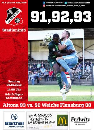 Stadionzeitung 06 Altona 93