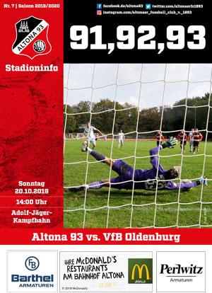Stadionzeitung 07 Altona 93