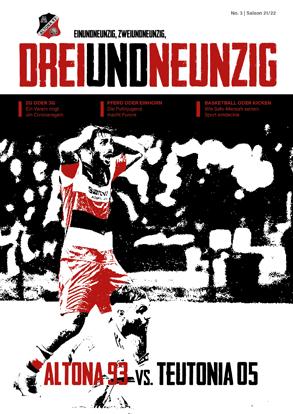 Stadionzeitung No 3 21/22